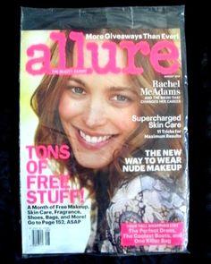 ALLURE Magazine  AUGUST 2014 : Actress RACHEL McADAMS