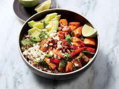 Zesty Kale and Sweet Potato Bowl