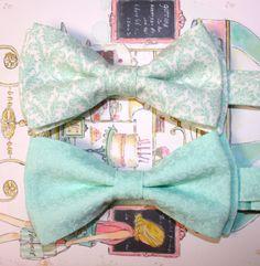 Mint Bow Tie  Mint Ties for Groomsmen  Men's Mint by forTheMister, $18.00