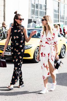 Best Street Style Looks of CFW Spring 2018