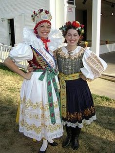 Czech kroj (This here was taken in Wilber, Ne at the National Czech pageant)
