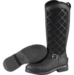 Ultimate style and performance collide when you wear The Original Muck Boot Company® Women's Pacy II WP Insulated Rubber Hunting Boot. With a slim profile and easy pull-on tab, the Pacy II offers an insulated, waterproof flex-foam bootie for ultimate freedom of movement and protection. Perfect for pairing with jeans or riding pants, the Pacy II keeps you warm in cooler conditions while keeping you stable with a gripping rubber outsole.
