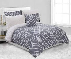 I found a Trista Gray 8-Piece King Comforter Set at Big Lots for less. Find more at biglots.com!