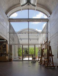 kimbell art museum blue courtyard - Google Search