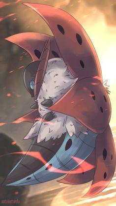Ulgamoth | Volcarona #Pokemon #Art