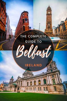 ireland travel Belfast, capital of Northern Ireland, is filled with stunning things to see. In this guide, you'll discover the best things to see in Belfast + a free map Belfast Northern Ireland, Galway Ireland, Cork Ireland, Northern Ireland Weather, Belfast Dublin, Belfast Castle, Ireland Food, Belfast City, Cool Places To Visit