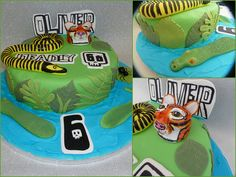Cbbc Deadly 60 Birthday Cake by sarah's bakery, via Flickr