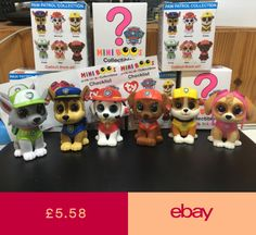 a3df6d1578e W-F-L Ty Mini Boos Paw Patrol Collectible Figures 5 cm Beanie Boos Selection