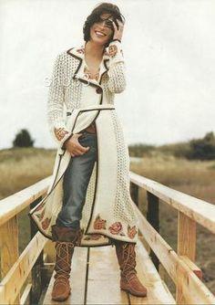 RARE Anthropologie 2002 Needlepoint Coat Cardigan Sweater Sweatercoat 4 6 s $298 | eBay