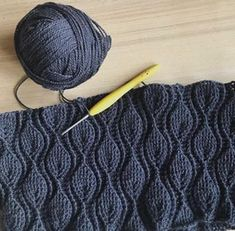 40 Free Crochet Stitches From Daisy Farm Crochet - Diy Crafts Chevron Crochet Patterns, Crochet Stitches Patterns, Crochet Designs, Knitting Patterns, Crochet Jumper, Crochet Cable, Free Crochet, Diy Crafts Crochet, Crochet Leaves