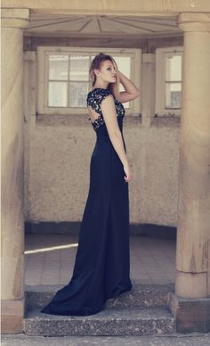 POCKETFUL OF DREAMS  evening gown - dress lace back