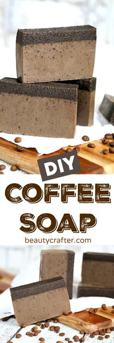 DIY Coffee Soap Reci