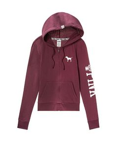 Shop our All Sweatshirts collection to find your cutest look. Only at PINK. Vs Pink Outfit, Pink Outfits, Victoria Secret Outfits, Victoria Secret Pink, Pink Wardrobe, Stylish Hoodies, Pink Nation, Cute Jackets, Pink Brand