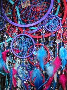 I really want all of that colors dreamcatchers.