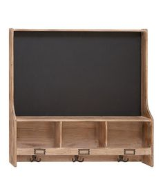 Chalkboard Hook Wall Shelf by UMA Enterprises on #zulily