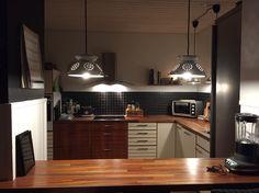 Nyt gammelt køkken, skufferne skal bare males nu.