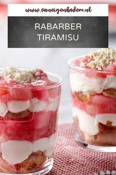 Mascarpone Dessert, Raspberry Rhubarb, Tiramisu, Mousse, Food Inspiration, Creme, Sweet Tooth, Sweet Treats, Bakery