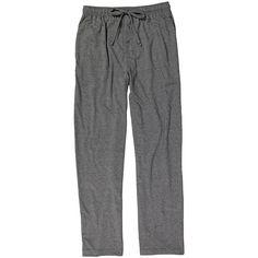 IZOD Charcoal Mesh-Knit Pajama Pants ❤ liked on Polyvore featuring intimates, sleepwear, pajamas, knit sleep pants, izod sleepwear, knit pajamas, pj pants and knit sleepwear