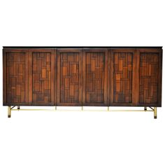 Bert England; Sideboard for Johnson Furniture, 1960s.
