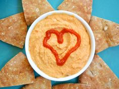 Sriracha Hummus - just made this, it is unbelievably delicious.  SO easy, I made it in my blender in 5 minutes