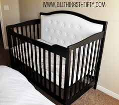 Update you crib! I want to do this for my future babies!