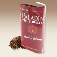 Paladin pipe tobacco contains Burleys and Virginias and they meld together with a Black Cherry topping to create both a satisfying and delightfully flavorful smoking experience. This classic American aromatic has been a staple among the P&C Faithful since day one, and it's a consistent best-seller for us today.
