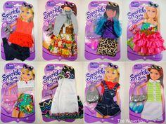 Sparkle Girlz Dark Pink Knit Lace Ruffle Shirt fits Barbie REGULAR Doll