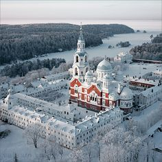 Valamo Monastery – Valaam restored - restoration of the Transfiguration of the Saviour Cathedral complete in 2003