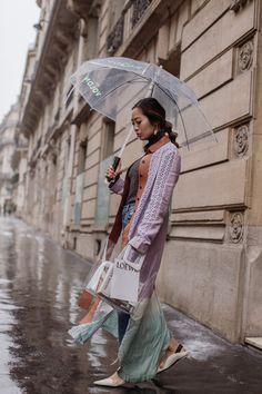 Paris Fashion Week Diary Day 5 - Loewe & Balmain show   Song of Style