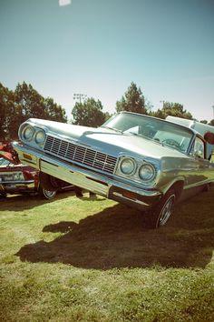 Lowrider Impala with hydraulics