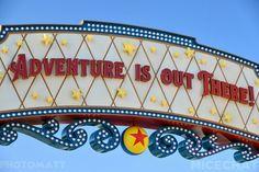 Pixar Pier in California Adventure, Disneyland Disney Nerd, Disney Cruise, Disney Vacations, Disney Trips, Disney Parks, Disney Movies, Disney Pixar, Walt Disney, Disney Bound