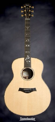 TAYLOR 918e • 6-String Acoustic-electric Guitar, Grand Orchestra, with Sitka Spruce Top, AA Indian Rosewood Back and Sides, Taylor ES2 Electronics, and Hard Case - Natural | Sweetwater