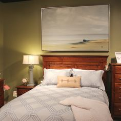 Painting from Artisto Fine Art at Las Vegas Design Center. Las Vegas, Fine Art, Bed, Painting, Furniture, Design, Home Decor, Decoration Home, Stream Bed