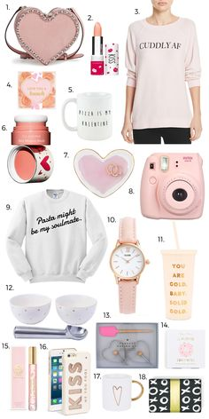 Cute Valentines Day gift ideas.