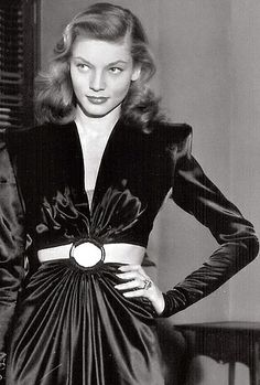 Lauren Bacall in To Have and Have Not, 1944