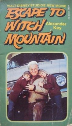 """Escape to Witch Mountain"" ~ We watched this movie during elementary school ""Movie Afternoons"" ~> #TakesMeBack #Childhood #Memories"