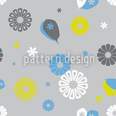 Flowerpower Stilisimo by Thomas Ritter available for download as a vector file on patterndesigns.com