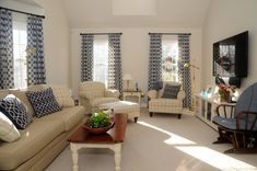 coastal inspired family room family room makeover before and after