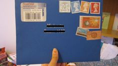 Picture of How to Make a Doctor Who Envelope