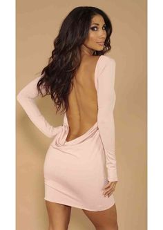 When the lights go out, you turn oN. *Belt is not included Backless Sequin Dress, Long Sleeve Backless Dress, French Wedding Dress, Classy Wear, Girls In Mini Skirts, Beautiful Outfits, Beautiful Clothes, Dress Me Up, Pretty Dresses