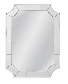 Reagan Wall Mirror by Bassett Mirror Company - Home Gallery Stores