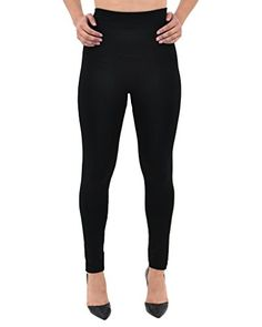 0b5990edd0e543 Fleece Lined Leggings Full Length Opaque High Waisted Slimming Thick Tights  ** Read more reviews