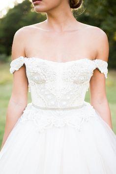romantic bridal portraits | Andrea Elizabeth Photography on @glamourandgrace