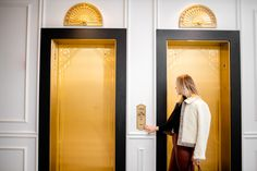 These elevators are so gorgeous you may just want to stay in them all day going from one floor to the next. Astor House in Chicago's Gold Coast neighborhood combines vintage charm with modern luxury. Luxury Apartments, Gold Coast, Modern Luxury, The Neighbourhood, Chicago, New Homes, Floor, House, Vintage