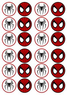Resultado de imagen de free printable cupcake wrappers and toppers with spiderman Superhero Birthday Party, Man Birthday, Fête Spider Man, Spiderman Cupcake Toppers, Spiderman Theme, Spiderman Cookies, Man Party, Free Printables, Cupcake Wrappers