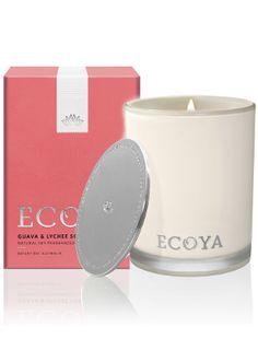 Ecoya Guava and Lychee Sorbet Madison Jar Candle