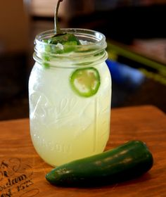 Had one at El Chaparral Mexican Restaurant in San Antonio, I am so gonna get this down, Pineapple Jalapeno Margarita. Margaritas Mexican Restaurant, Mexican Drinks, Mexican Food Recipes, Mexican Dishes, Pitcher Margarita Recipe, Margarita Recipes, Pineapple Margarita, Jalapeno Margarita, Alcholic Drinks