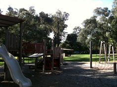 Antonio Park, Mitcham - bushland in the heart of the 'burbs! Heaps of space to stretch out, picnic and play - or try out one of the walking tracks. #bbq #playground