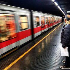 Metropolitan routine... #Milan