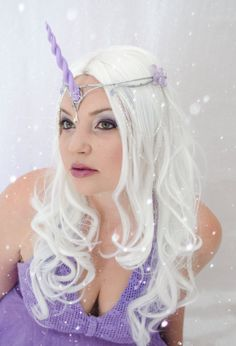 Lavender Unicorn Headpiece by Frecklesfairychest on Etsy, $60.00